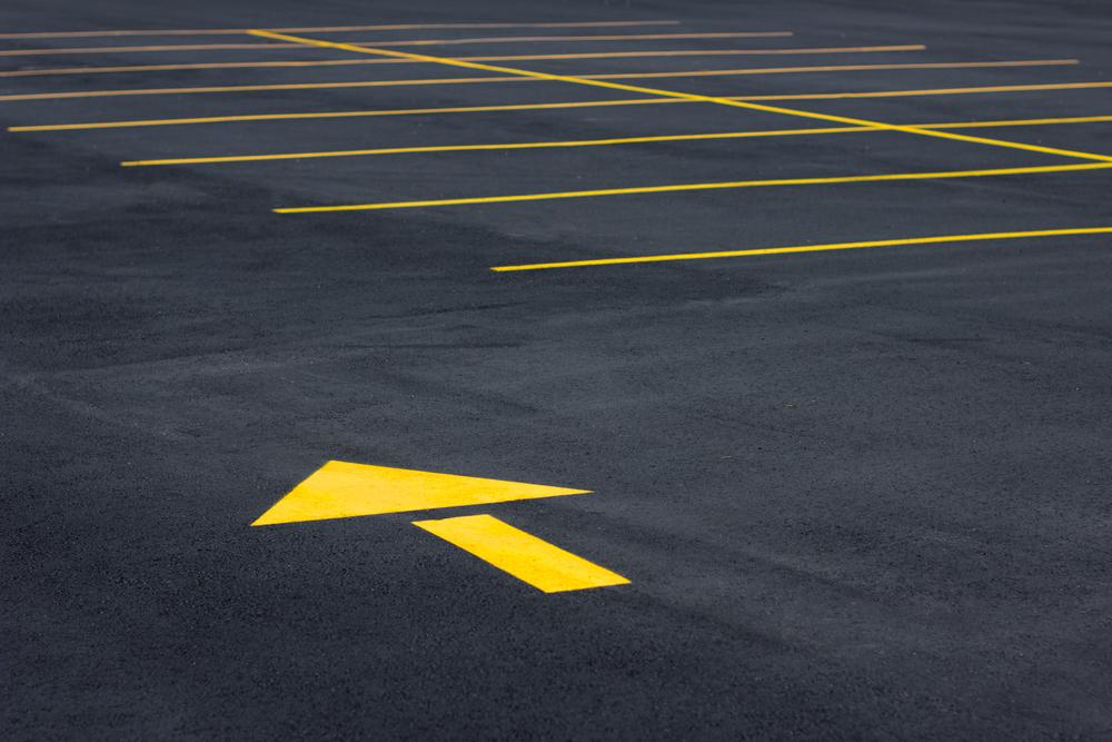 Parking Lot Seal Coating