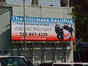 LAPD Memorial